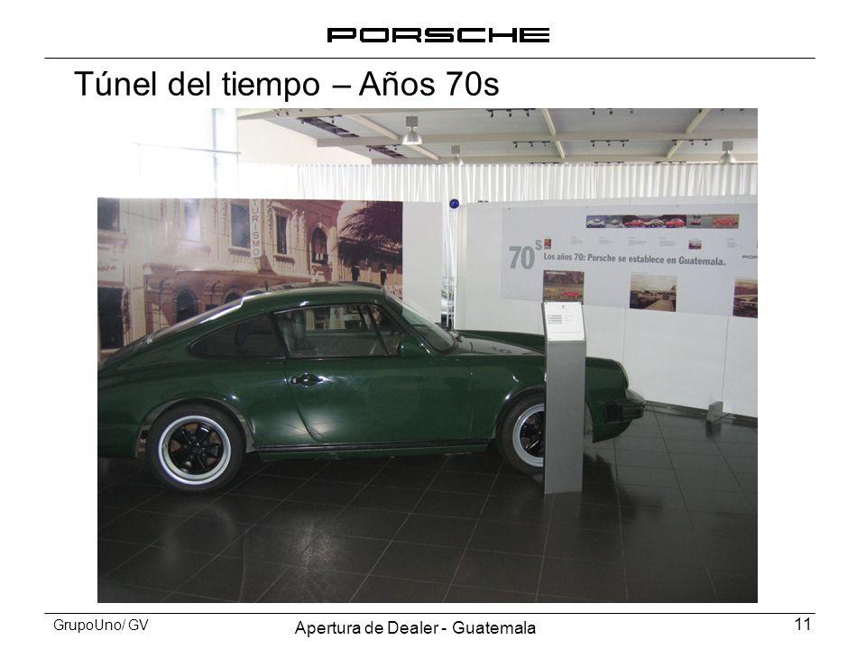 Apertura de Dealer - Guatemala 11 GrupoUno/ GV Túnel del tiempo – Años 70s