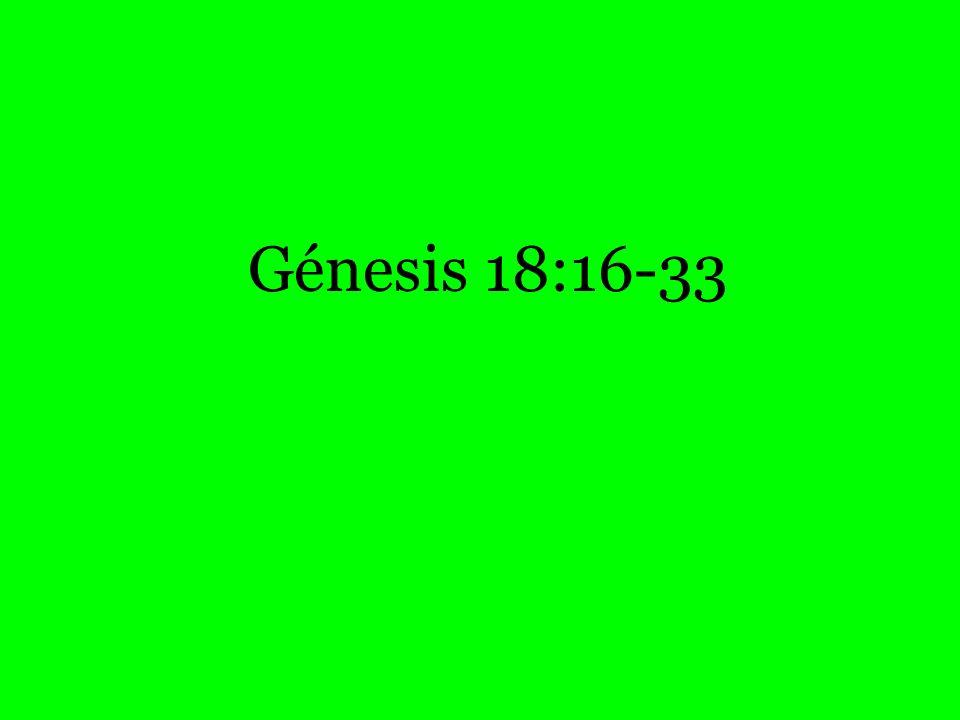 Génesis 18:16-33