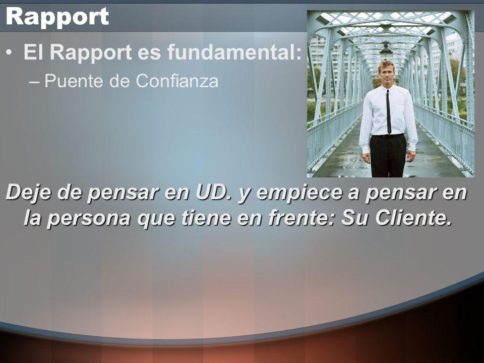 Rapport Comienza la Clasificación del Cliente