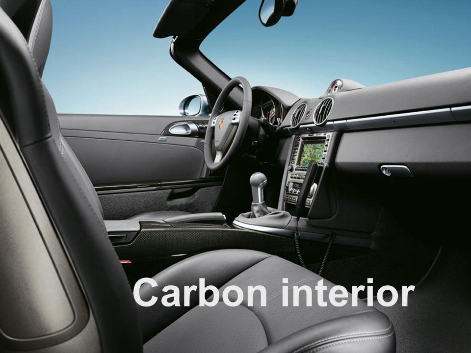 VO4/VRS 08/2004 Exclusive and Tequipment training 25 Carbon interior