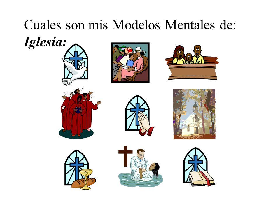 Cuales son mis Modelos Mentales de: Iglesia: