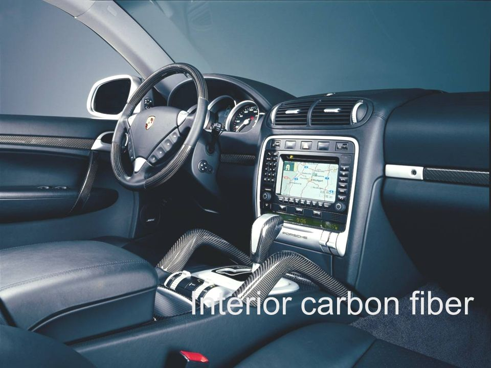 Exclusive and Tequipment product training VRS Sheet 14 Interior carbon fiber
