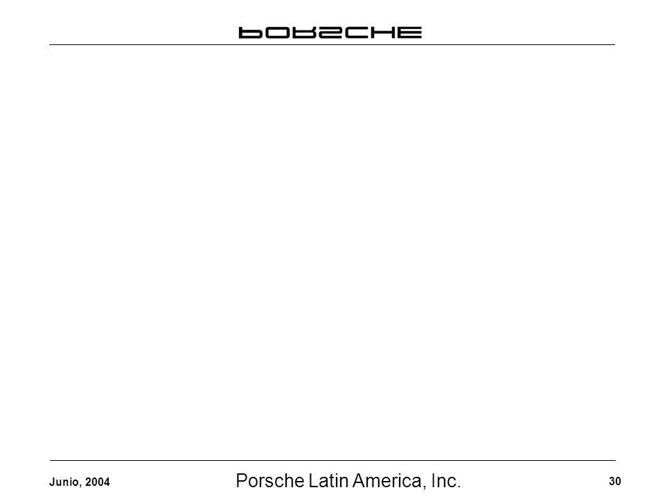 Porsche Latin America, Inc. 30 Junio, 2004