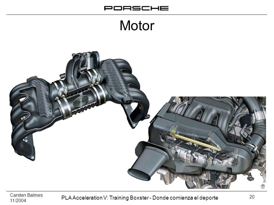 Carsten Balmes 11/2004 PLA Acceleration V: Training Boxster - Donde comienza el deporte 20 Motor