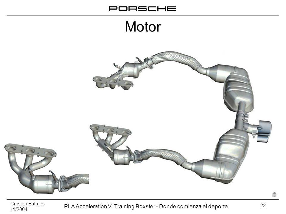 Carsten Balmes 11/2004 PLA Acceleration V: Training Boxster - Donde comienza el deporte 22 Motor