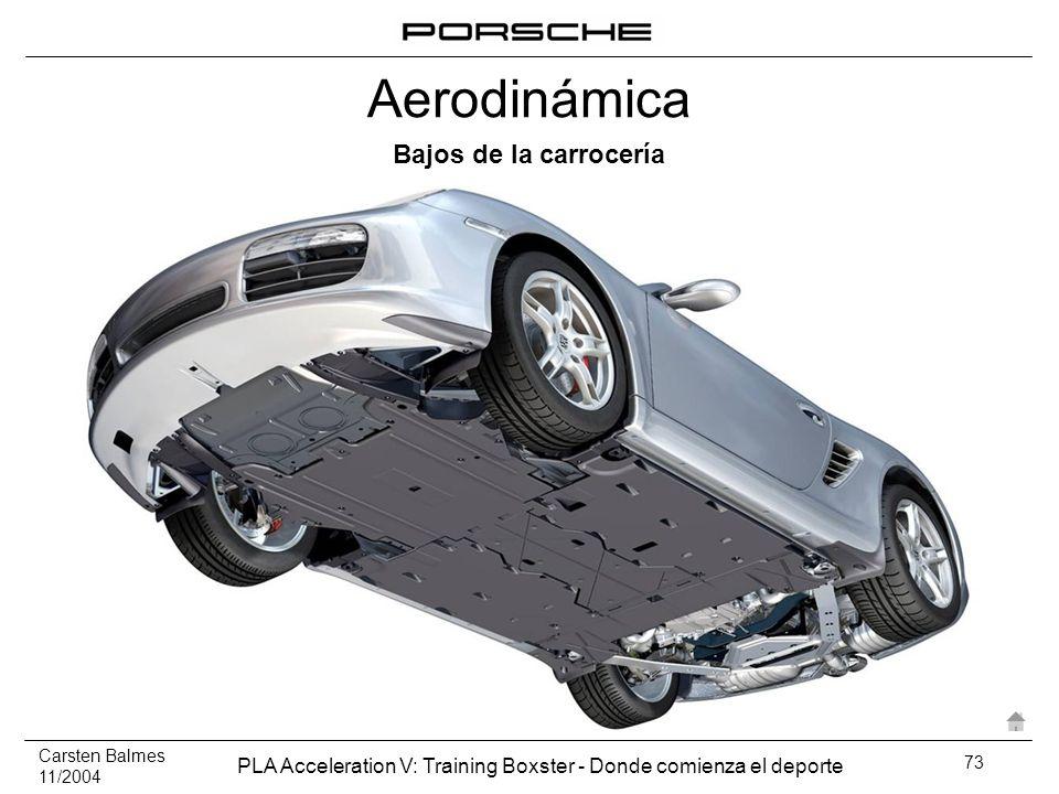 Carsten Balmes 11/2004 PLA Acceleration V: Training Boxster - Donde comienza el deporte 73 Bajos de la carrocería Aerodinámica