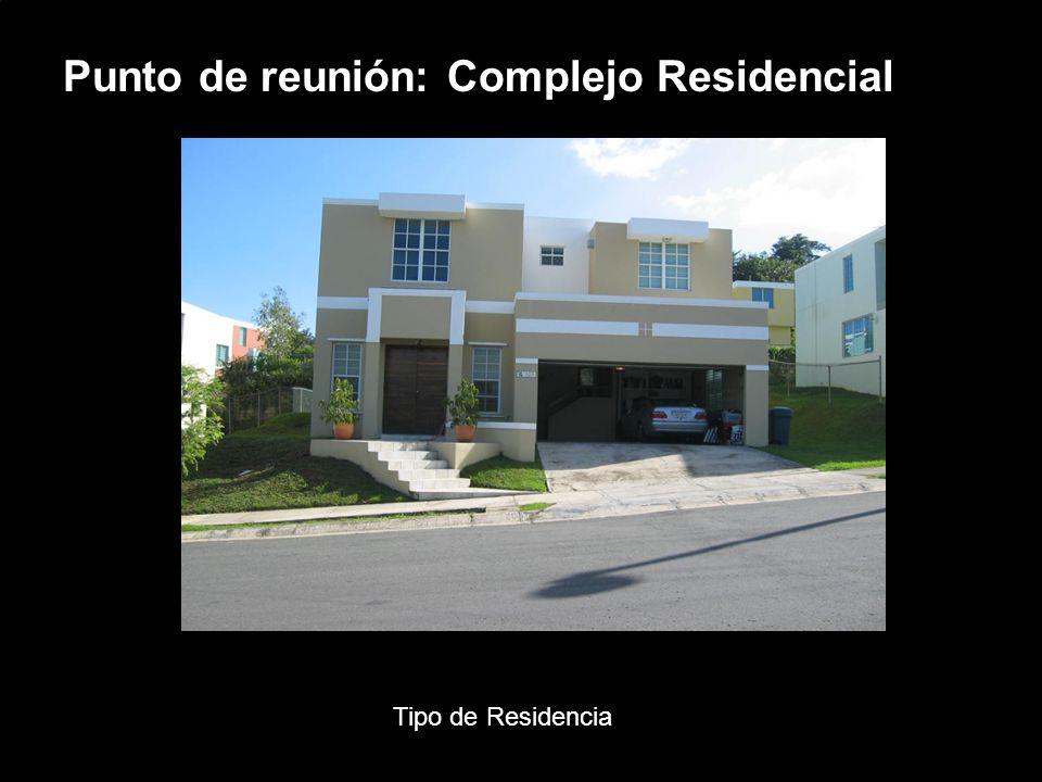 Porsche Latin America, Inc. 6 15 de junio de 2004 Punto de reunión: Complejo Residencial Tipo de Residencia