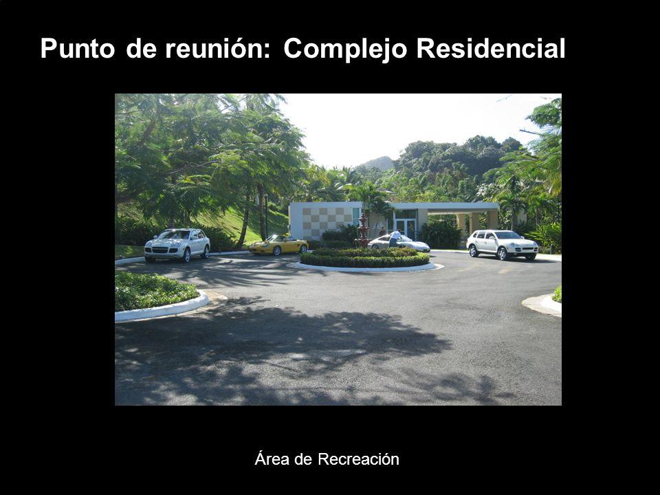 Porsche Latin America, Inc. 7 15 de junio de 2004 Punto de reunión: Complejo Residencial Área de Recreación