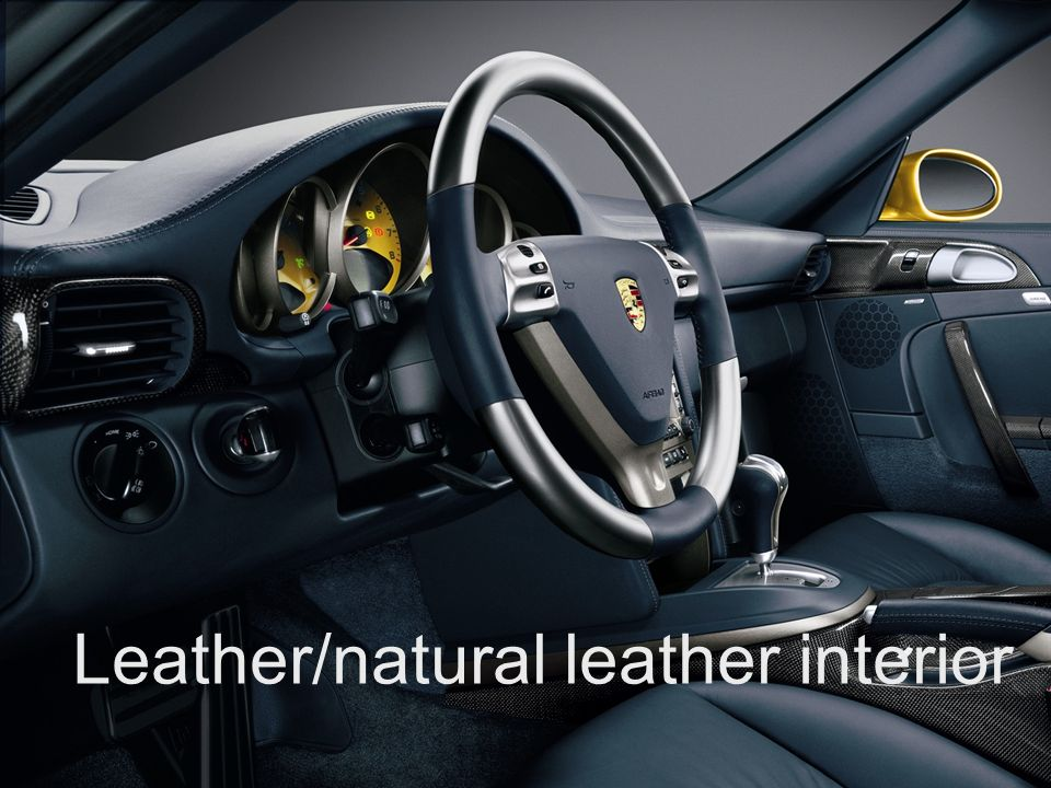 Exclusive and Tequipment training Exclusive and Tequipment product training VRS Sheet 21 Leather/natural leather interior