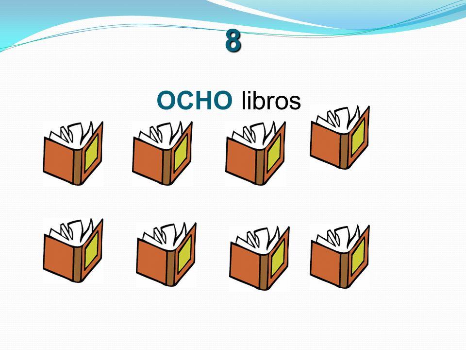8 OCHO libros