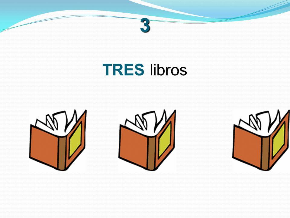3 TRES libros
