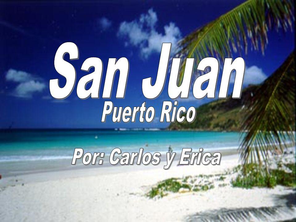 La isla de Puerto Rico está localizado entre el mar Caribbean y el oceano atlantico.