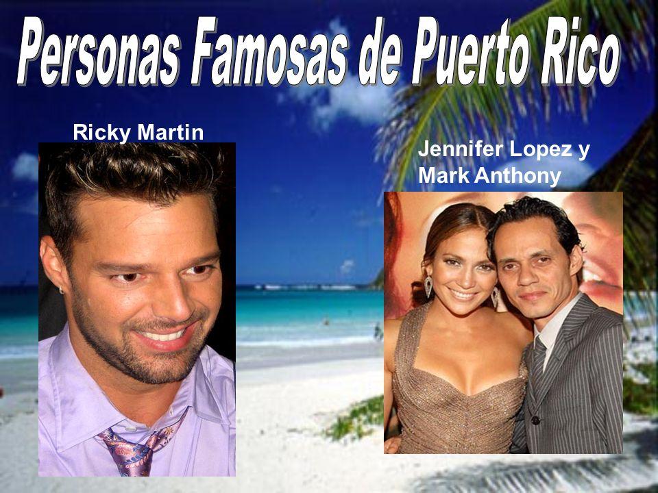 Jennifer Lopez y Mark Anthony Ricky Martin