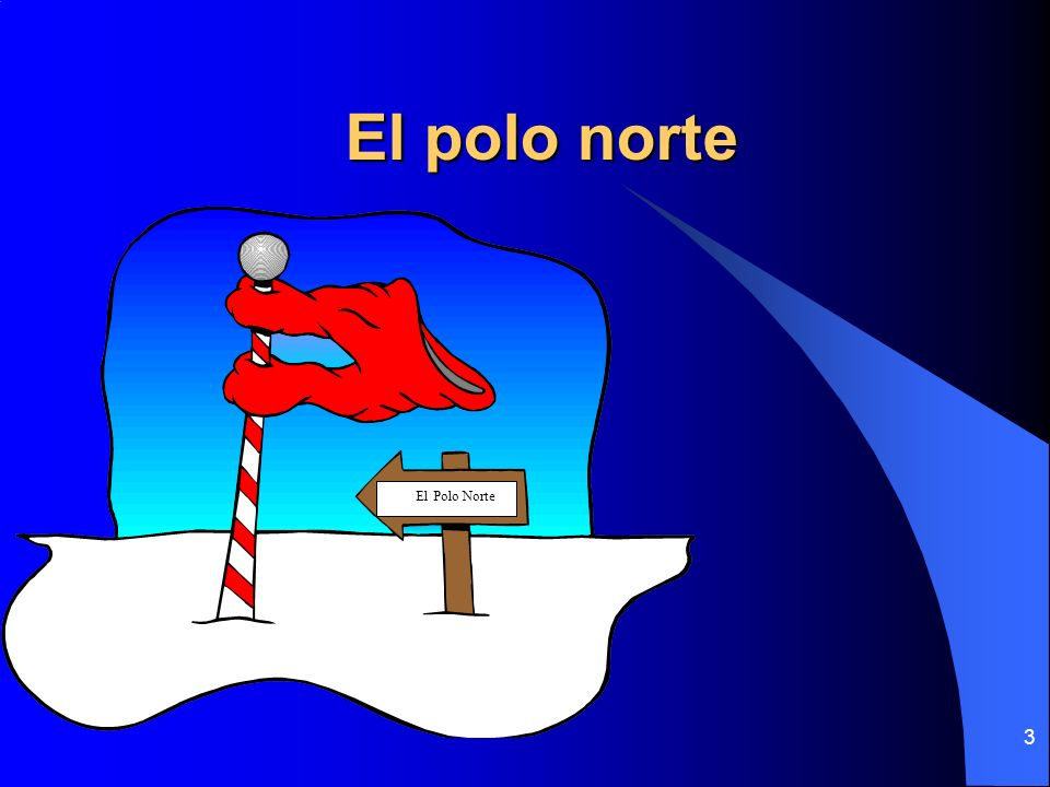 3 El polo norte PolEl Polo Norte
