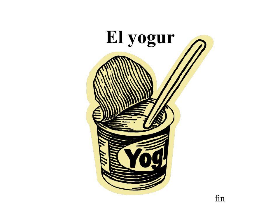 El yogur fin