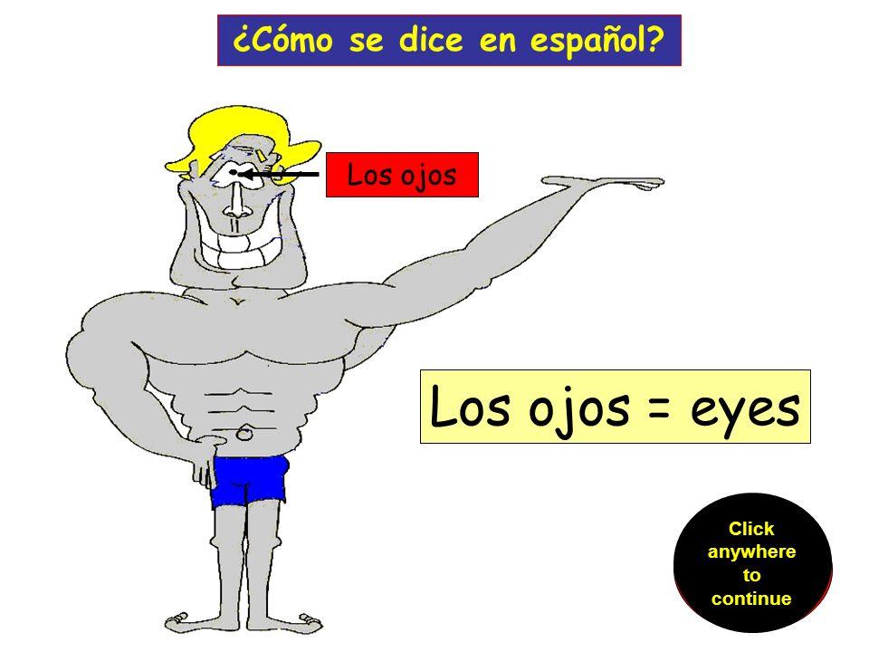la oreja ¿Cómo se dice en español.