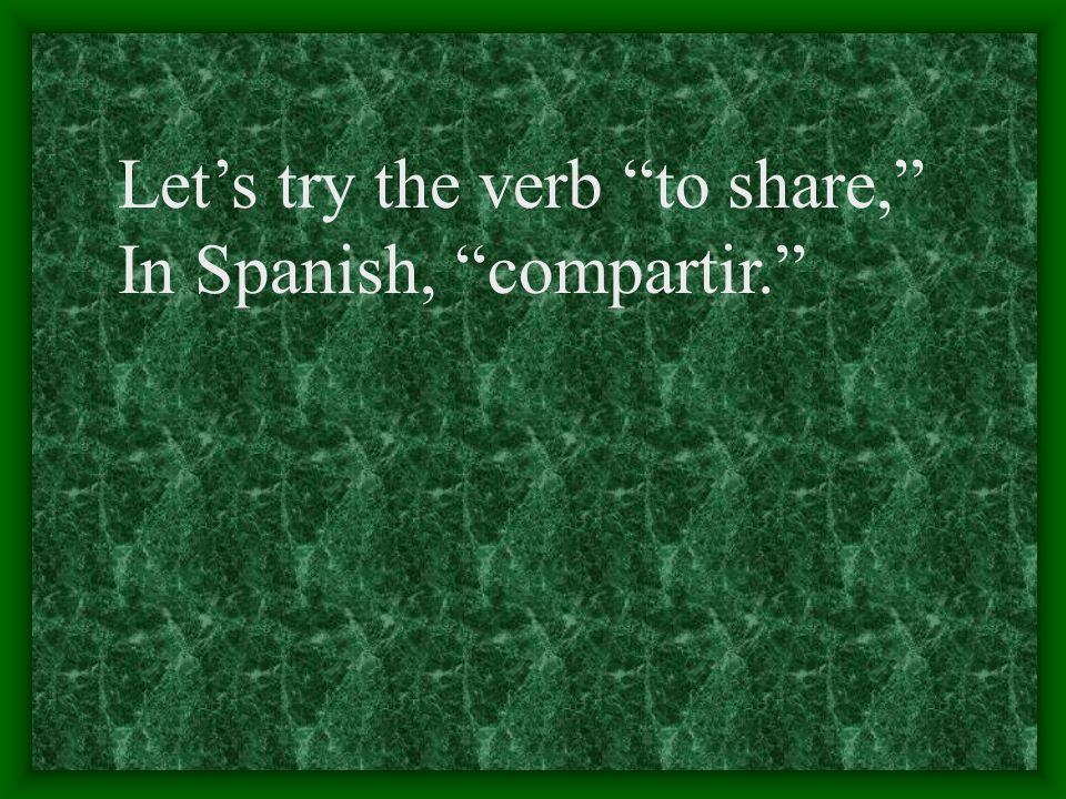 The forms for regular IR verbs yo onosotros imos nosotras tú es elellos ella eellas en ustedustedes