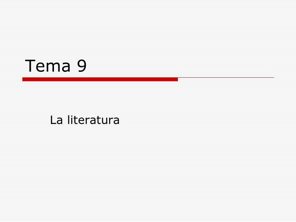 Conceptos 1.La comunicación literaria 2.Elementos de la comunicación literaria 3.Texto literario y texto no literario 4.La lengua literaria.