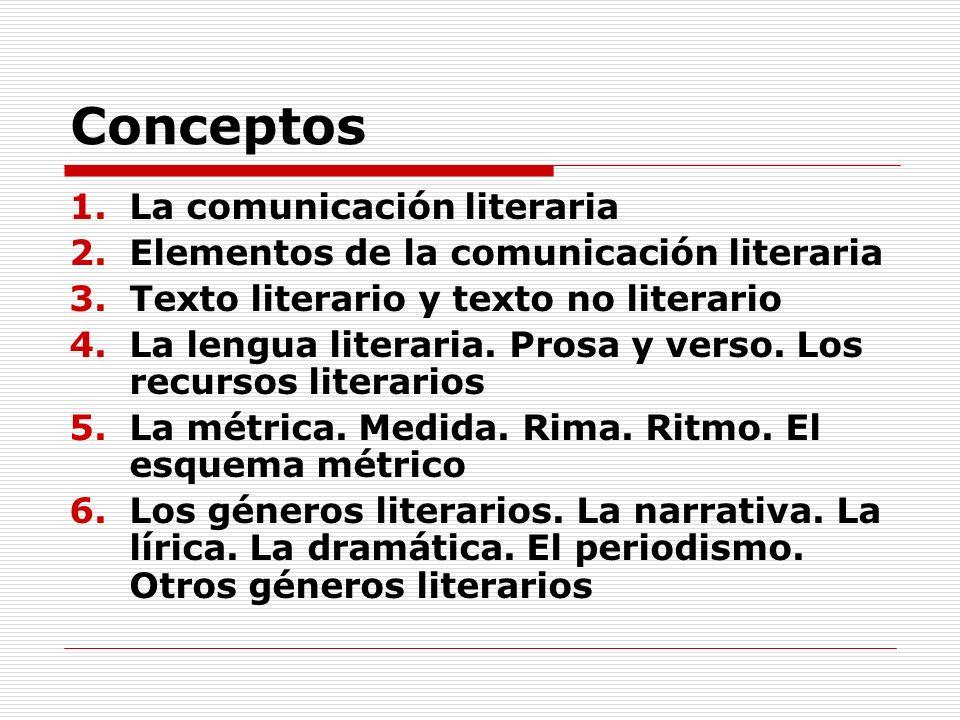 1.La comunicación literaria Una forma peculiar de comunicación 1.1.