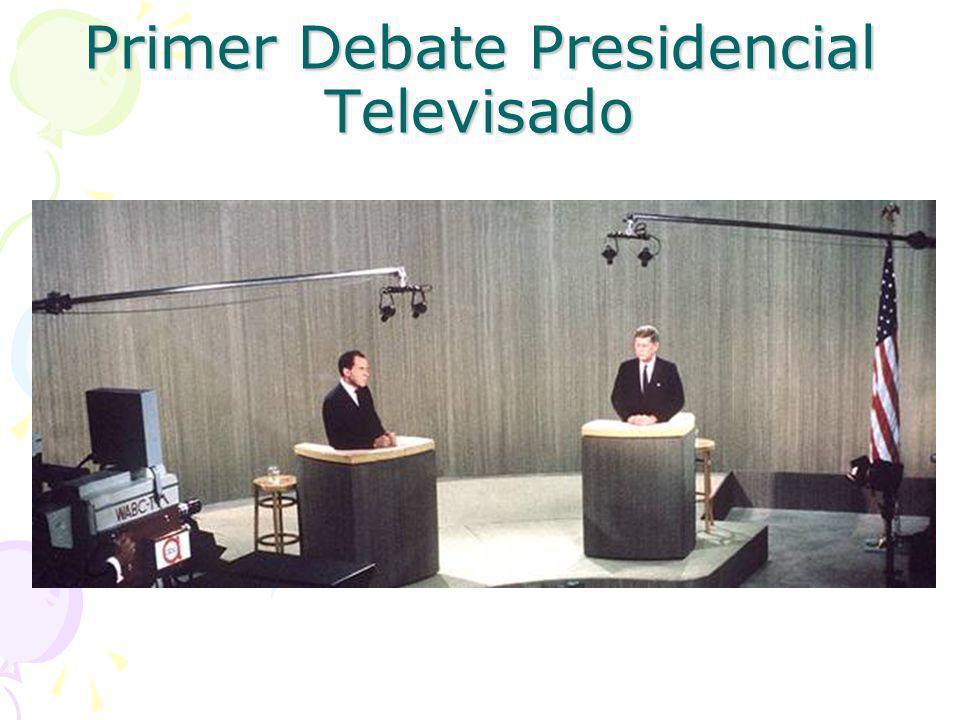 Primer Debate Presidencial Televisado