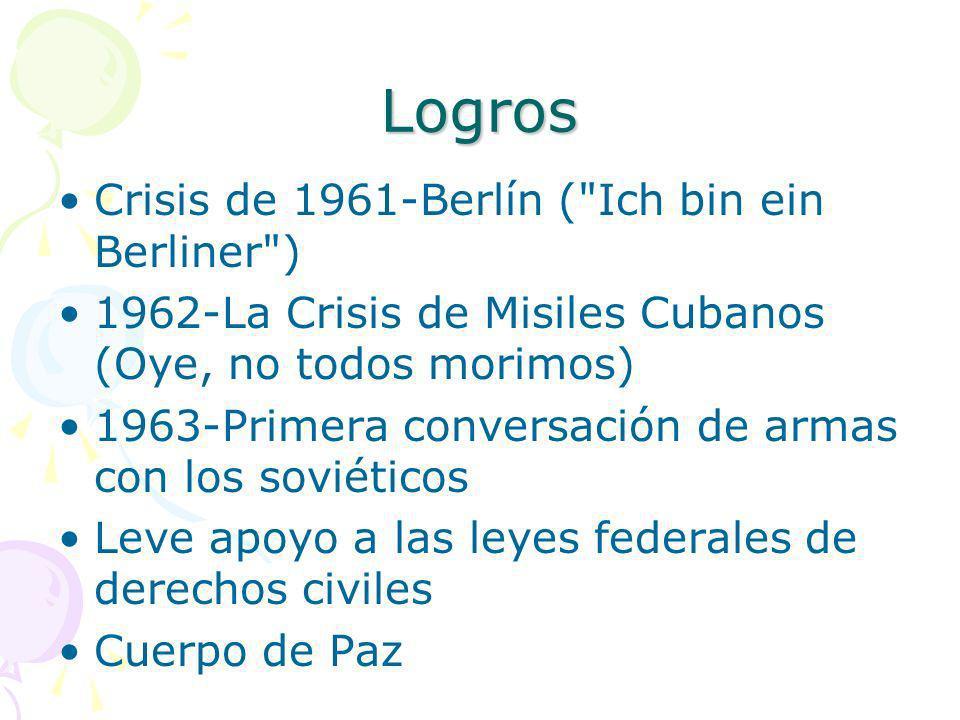 Logros Crisis de 1961-Berlín (