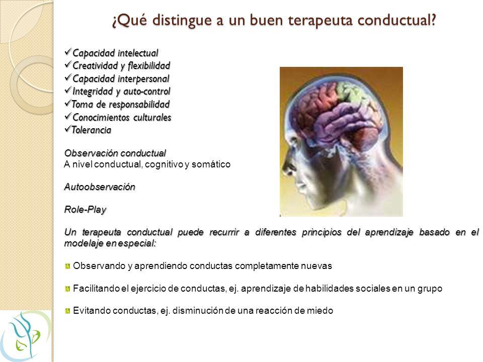 Características de la Terapia Cognitivo-Conductual (TCC) Características específicas que diferencian la TCC de otros modelos terapéuticos: fuera Ejerc