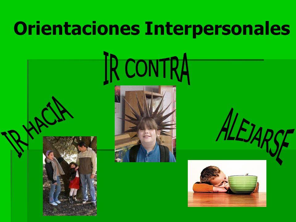 Orientaciones Interpersonales