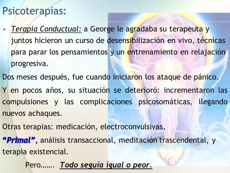 Desensibilización (Corey, 2001).