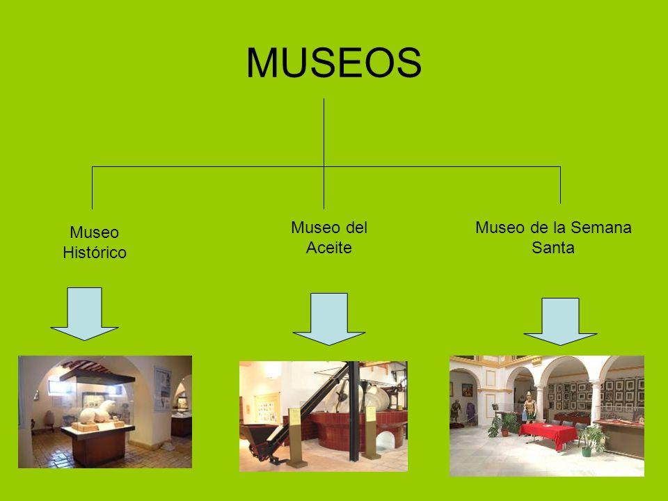 MUSEOS Museo Histórico Museo del Aceite Museo de la Semana Santa