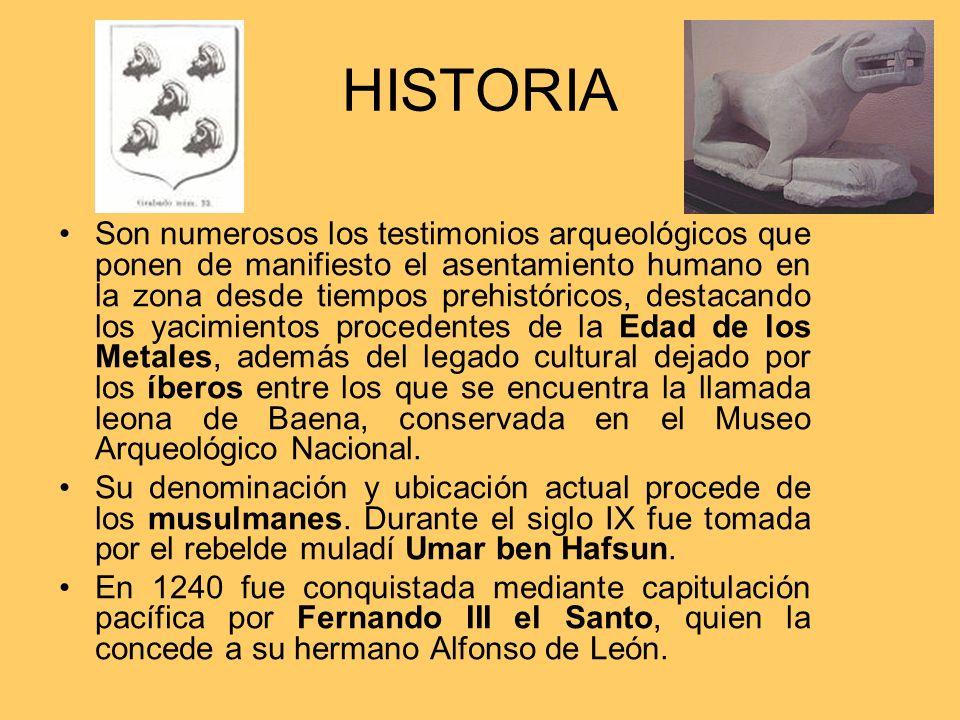 HISTORIA Son numerosos los testimonios arqueológicos que ponen de manifiesto el asentamiento humano en la zona desde tiempos prehistóricos, destacando
