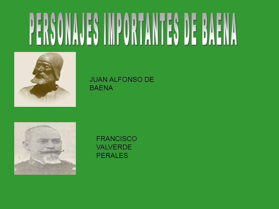 JUAN ALFONSO DE BAENA FRANCISCO VALVERDE PERALES