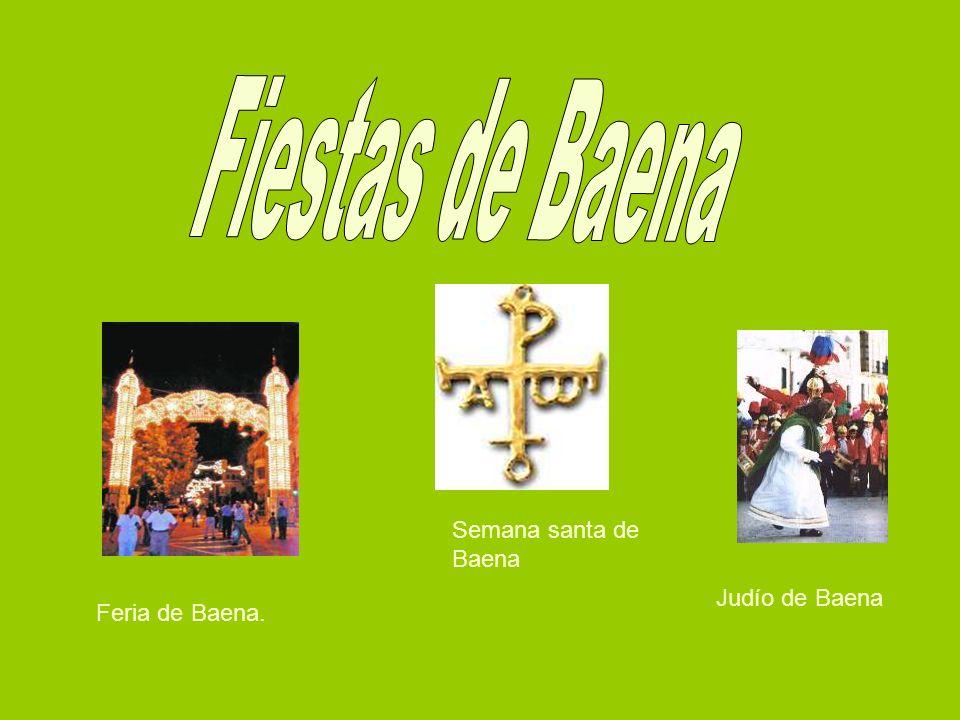 Feria de Baena. Semana santa de Baena Judío de Baena