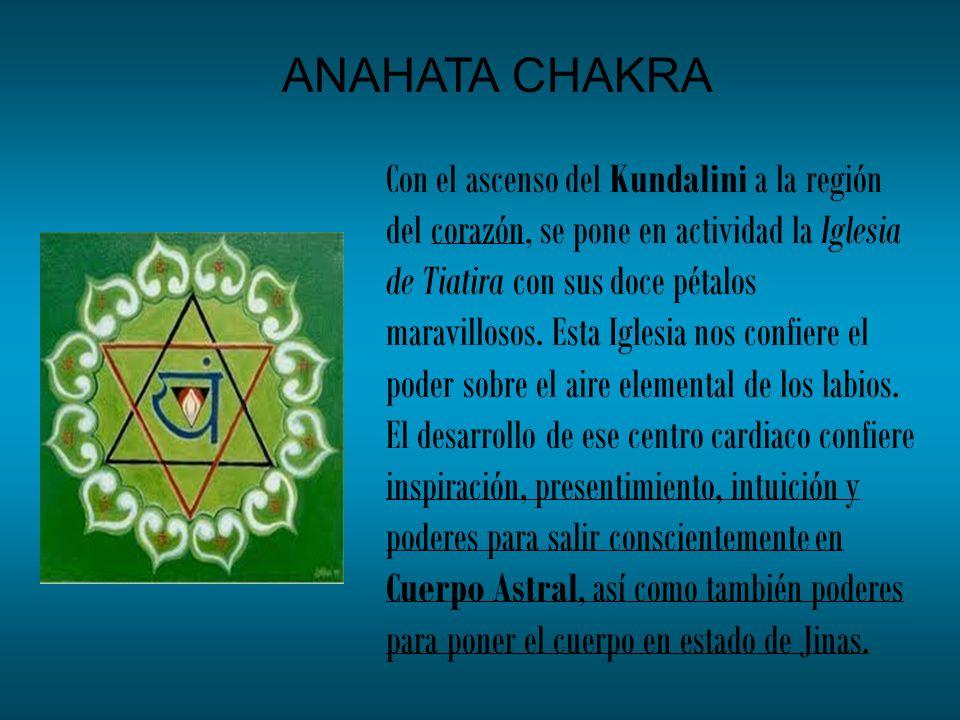 Con el ascenso del Kundalini a la región del corazón, se pone en actividad la Iglesia de Tiatira con sus doce pétalos maravillosos. Esta Iglesia nos c