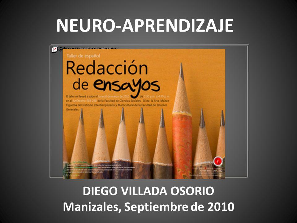 NEURO-APRENDIZAJE DIEGO VILLADA OSORIO Manizales, Septiembre de 2010