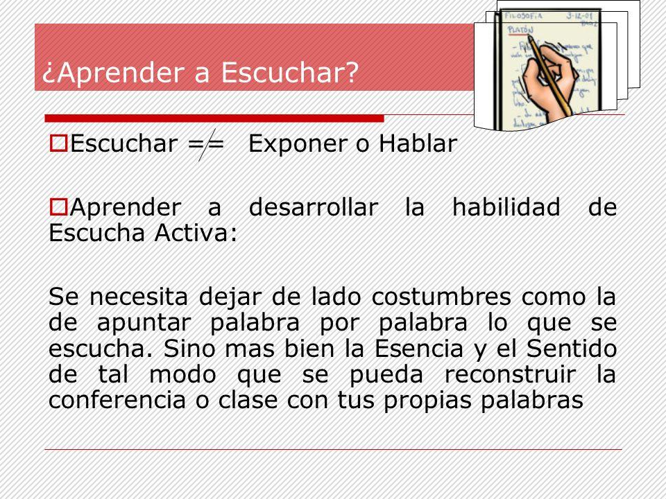 1ª Prepárate: Acudir con notas previas sobre el tema: Citas textuales, ideas, esquemas, dudas, preguntas, ideas claves.