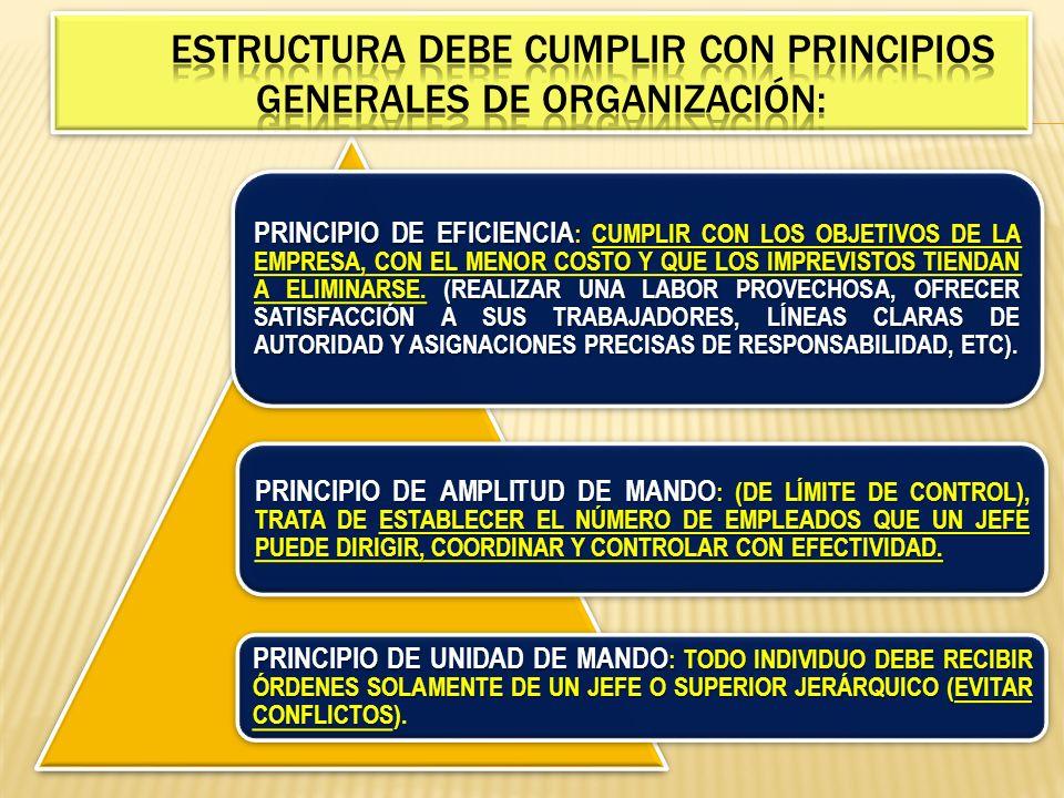 PRINCIPIO DE AUTORIDAD : CUANTO MAYOR SEA LA MAGNITUD DE LAS FUNCIONES POR REALIZAR, EL JEFE SE VERÁ OBLIGADO A DELEGAR AUTORIDAD LA DELEGACIÓN DE AUTORIDAD NO SIGNIFICA DE NINGUNA MANERA DELEGAR RESPONSABILIDAD, LA CUAL ES SÓLO DEL JEFE, POR LO QUE ÉSTE HAGA O DEJE DE HACER.