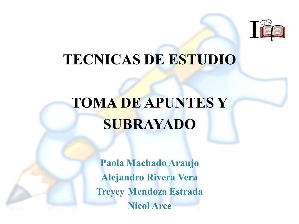 LOS APUNTES + Los Apuntes es una técnica de estudio que exige la escucha activa para anotar los datos relevantes y las ideas.
