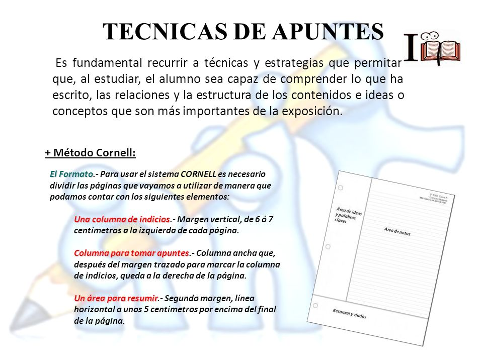 + Las Supernotas: + Estrategias Visuales:
