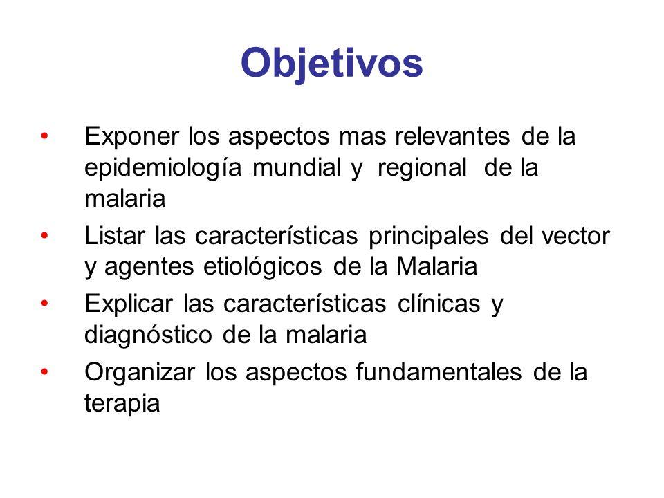 P.vivax Afecta reticulocitos Producción de hipnozoitos (formas durmientes en el hígado) Recaídas a los 6 meses hasta 3 años Menor riesgo de muerte