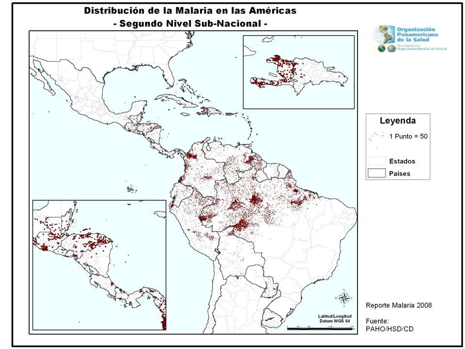 Profilaxis Región CLOROQUINO SENSIBLE: Cloroquina Región CLOROQUINO RESISTENTE Mefloquina Doxiclina
