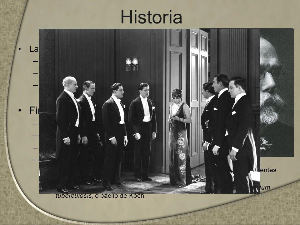 Historia La enfermedad romántica –Revolución francesa –Lady Windermere –Anemia hemolítica Finales del siglo XIX –Wilhem Roentgen –Laennec –Rudolph Vir