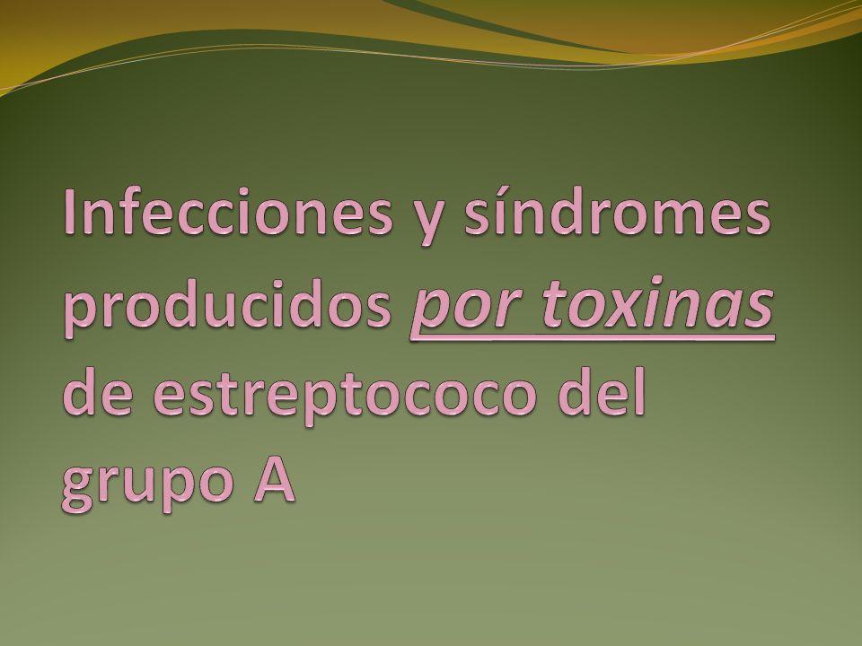 Fascitis necrosante Gangrena estreptocócica No estreptocócica (I)Necrosante sinérgicaPerineal de Fournier Infecciones de T.
