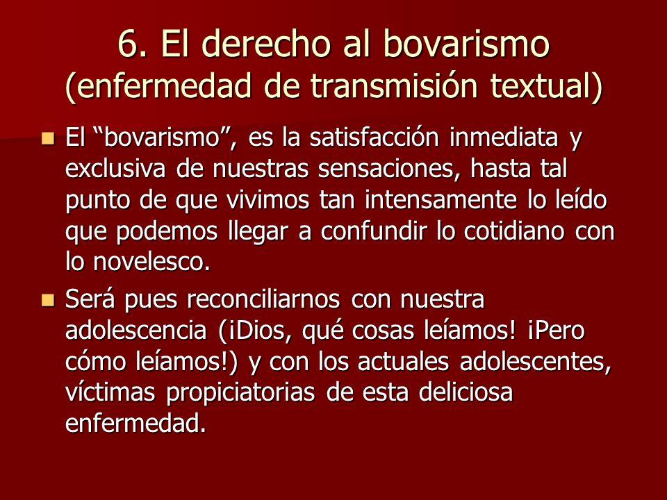 7.El derecho a leer en cualquier lugar Dos ejemplos: Dos ejemplos: 1.