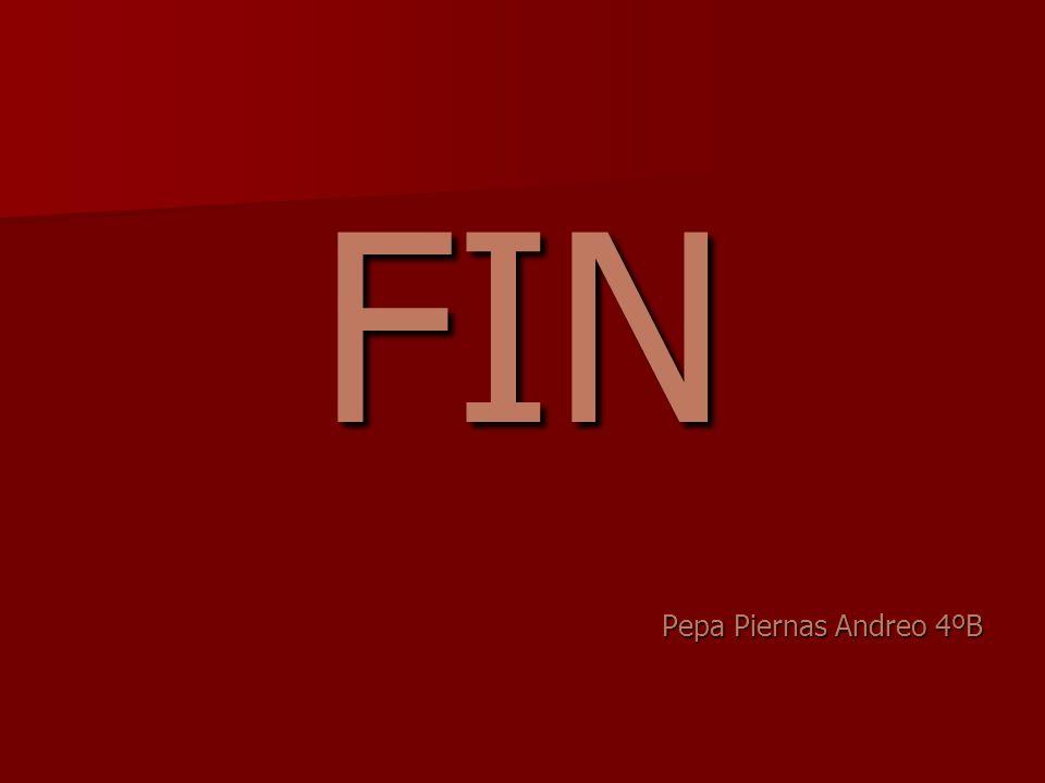 FIN Pepa Piernas Andreo 4ºB