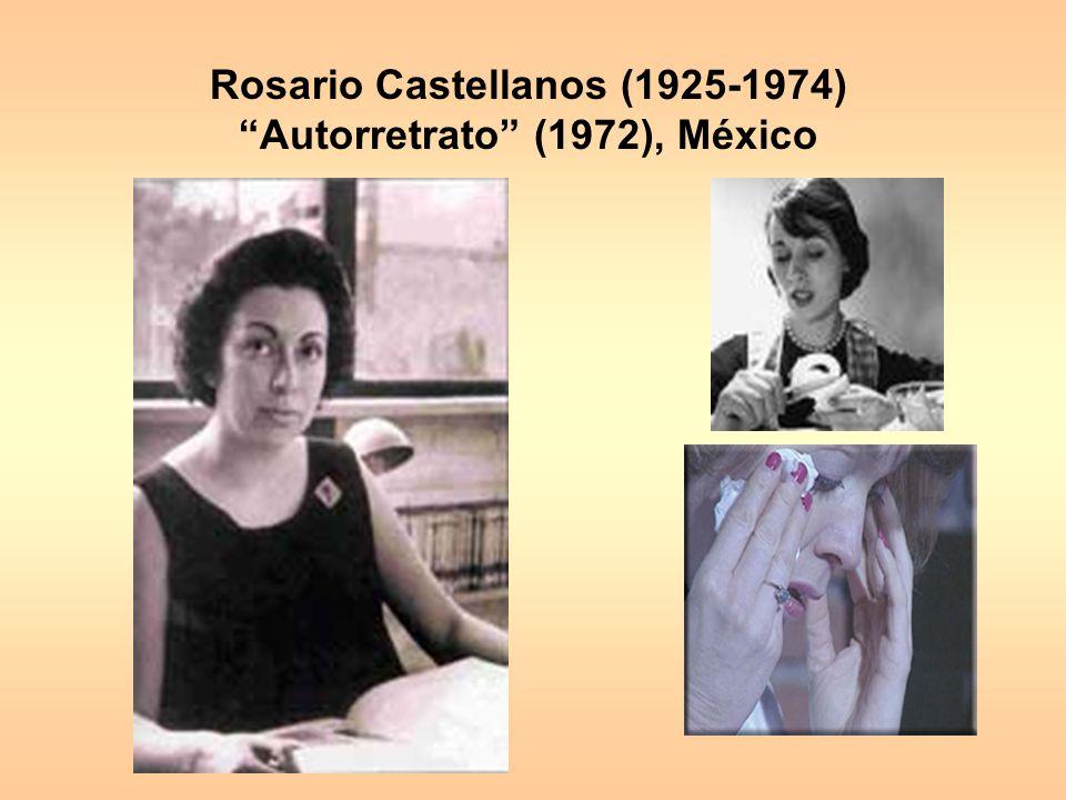 Rosario Castellanos (1925-1974) Autorretrato (1972), México