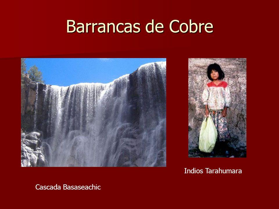 Barrancas de Cobre Indios Tarahumara Cascada Basaseachic