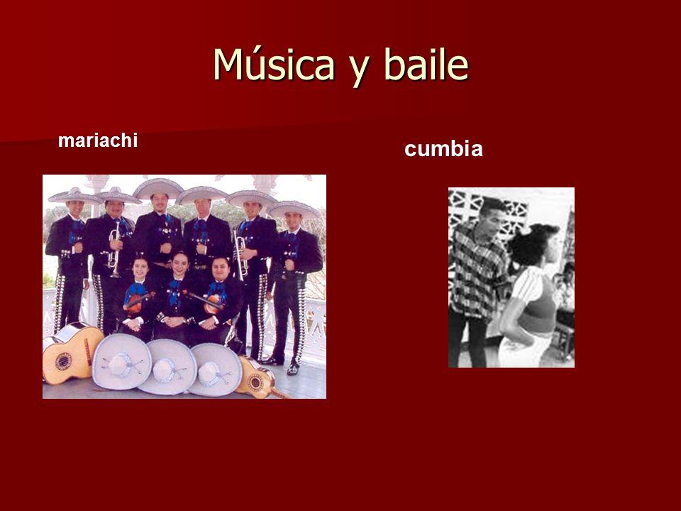Música y baile mariachi cumbia