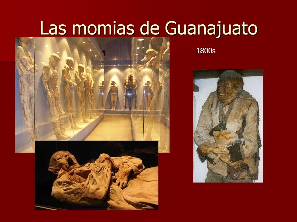 Las momias de Guanajuato 1800s