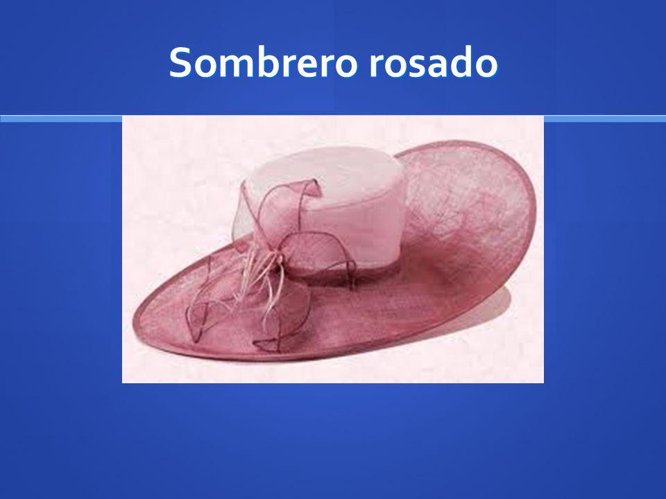 Sombrero rosado