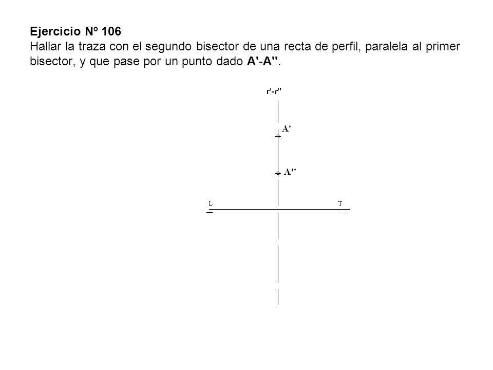 Los planos pedidos son α y β que pasan por las rectas r -r y s -s y son paralelos a la horizontal h -h .